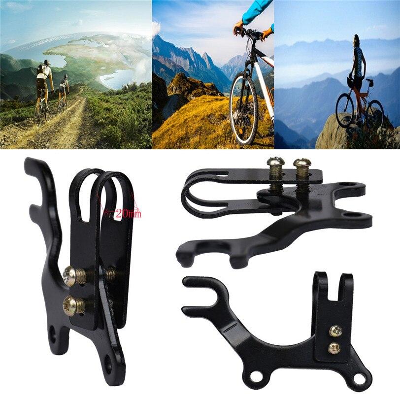 2017 New Adjustable Bicycle Bike Disc Brake Bracket Frame Adaptor Mounting Holder Sports