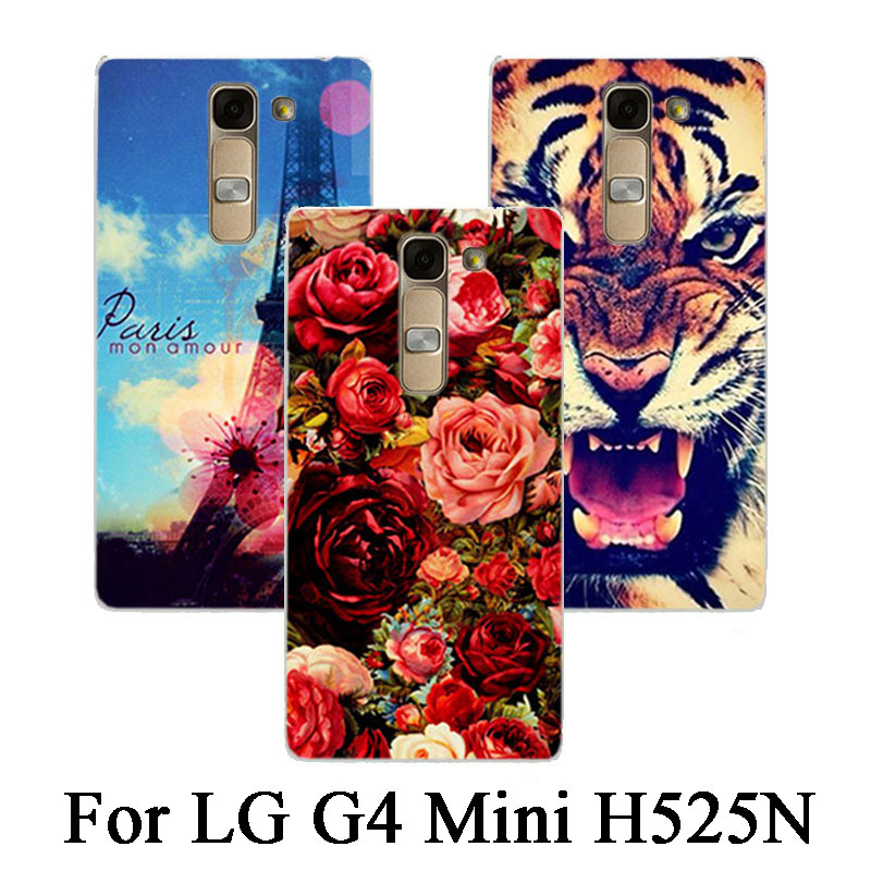 Beautiful Animals Flower and Eiffel Towers design Painting Case For LG Magna G4C G4 Mini H525N H522Y H520N H502F H500F LS751 C90