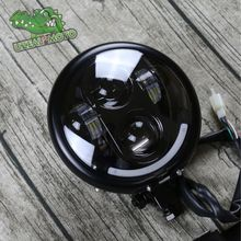 High Quality Motorcycle Headlamp Universal Cafe Racer Vintage Motorbike Front light Far