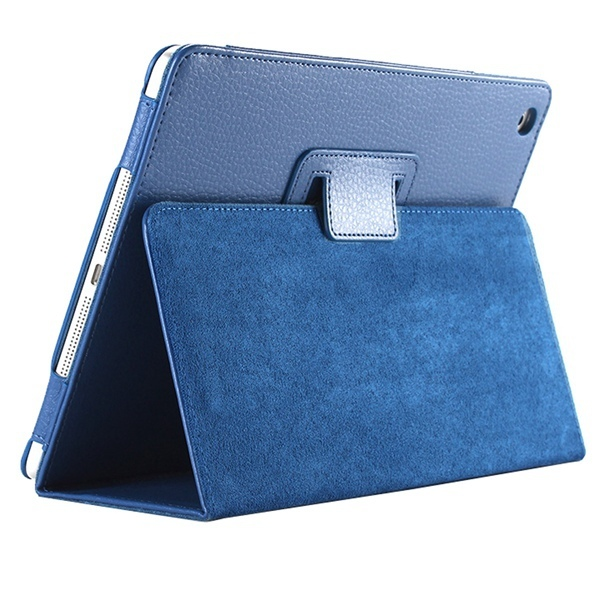 For Apple ipad 2 3 4 Case Auto Sleep /Wake Up Flip Litchi PU Leather Cover For New ipad 2 ipad 4 Smart Stand Holder Folio Case 3