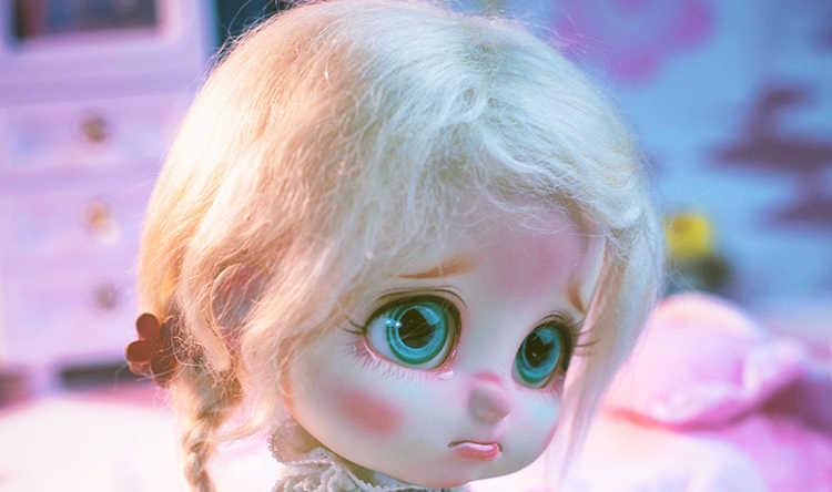 В наличии 1/8 bru 5 Стиль one pc BJD expression кукла хмурое сюрприз шок кошелек слез язык Обнаженная вывеска Модель Кукла для девочки