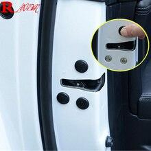 12PCS/Lot Car Door Lock Screw Protector Cover For Kia Sportage R KX5 QL K2 Hyundai Tucson 2015 - 2017 Ix35 Verna Solaris