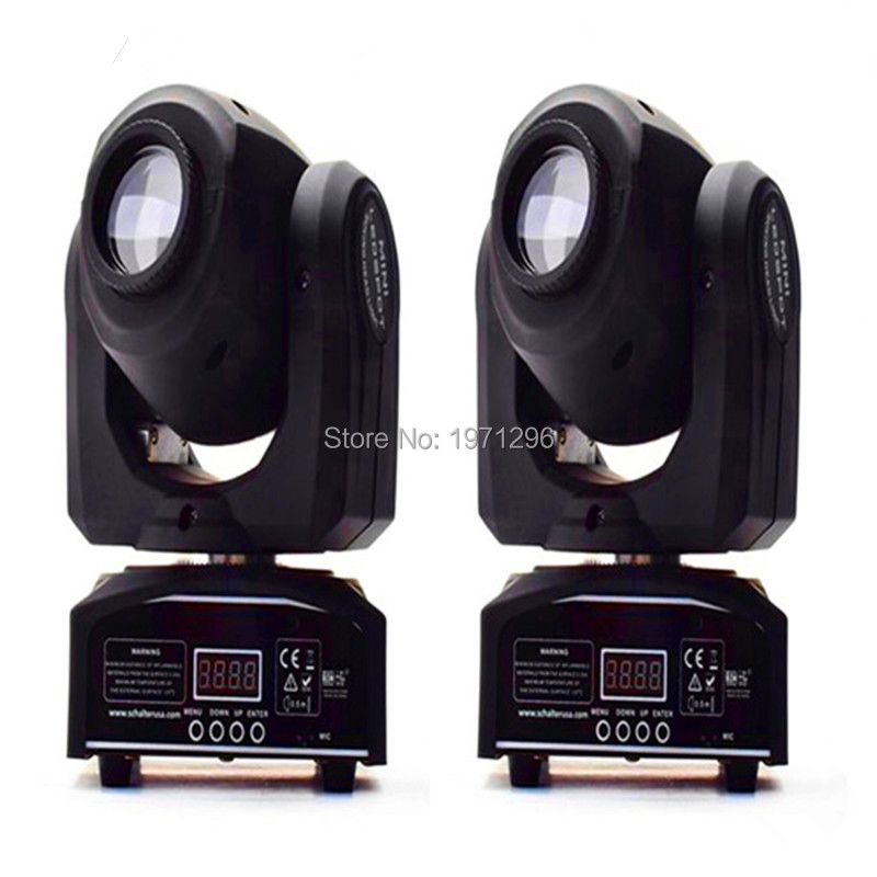 mini gobo spot 30w led moving head light with gobo plate 2pcs/lot New 30W LED Gobo Spot moving head Light