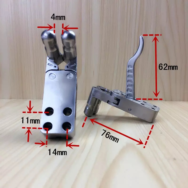 Aço inoxidável catapulta liberação alça de pulso