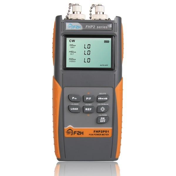 Grandway PON Medidor de Potencia De Fibra Óptica FTTH 1310/1490/1550nm