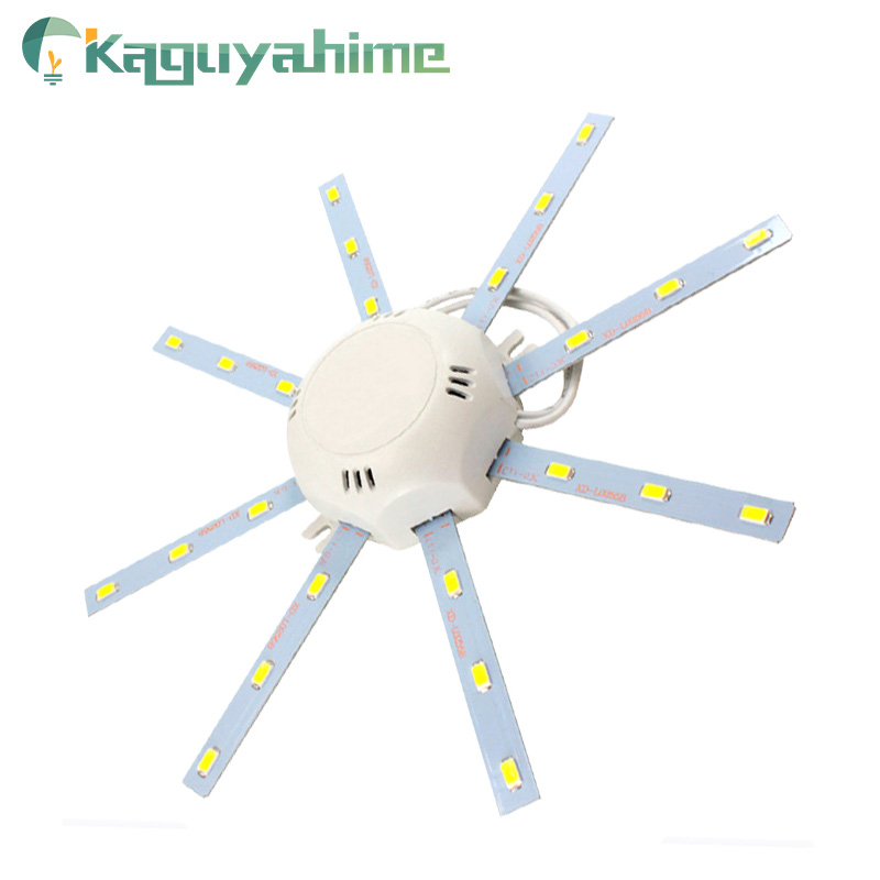 Kaguyahime LED Ceiling Light 12W 16W 20W 24W 220V Octopus Lights Modified Source Board Lighting LED Replace Lamp For Living Room