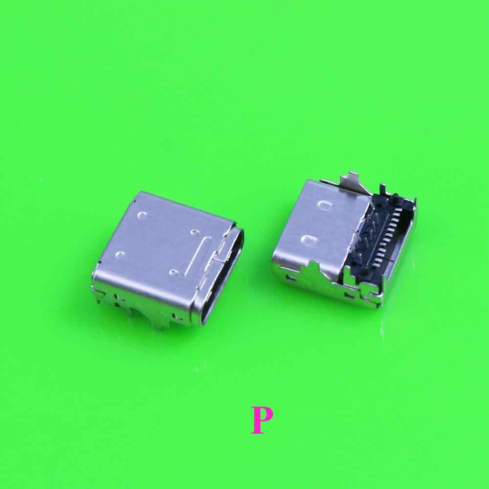 Yuxi Tipe C Mikro Mini USB Jack DC Pengisian Port Konektor Soket Power Dock Plug USB3.1 untuk Ponsel Notebook