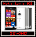 Teléfono móvil Nokia Lumia 925, desbloqueado Windows 8 4.5 '' 8MP WIFI GPS 3 G y 4 G GSM 16 GB de almacenamiento interno Dropshipping