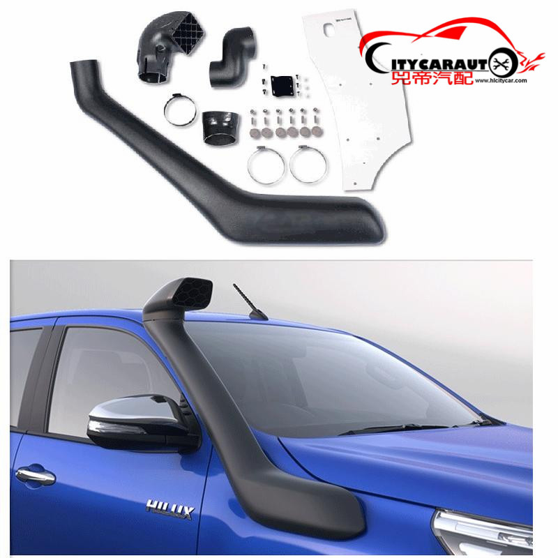 CITYCARAUTO 2015-2017 AIRFLOW SNOKEL KIT Fit FOR HILUX REVO CAR Air Intake LLDPE Snorkel Kit Set FIT HILUX REVO 2015-2017 citycarauto 2007 2011 airflow snokel fit for jeep wrangler jk series 3 8l v6 air ram intake snorkel kit black