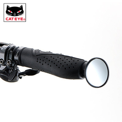 CATEYE MTB Jalan Sepeda Cermin Stang Spion Fleksibel Adjustable Bebas Distorsi Super Jelas Sepeda Aksesoris