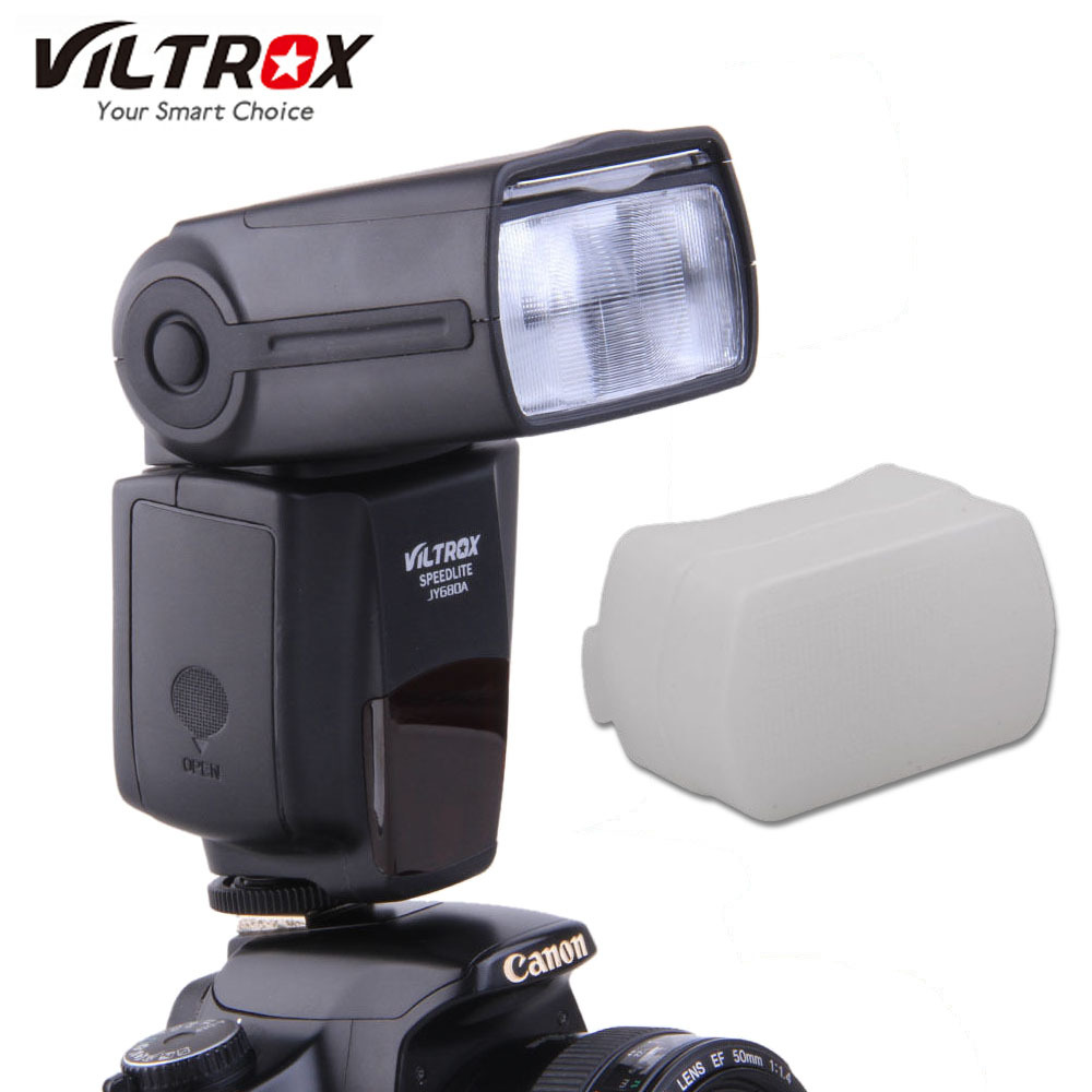 Viltrox JY680A Camera Flash GN33 Speedlite Flash Light with LCD Screen and Backlight Flash for Canon Nikon Pentax Cameras
