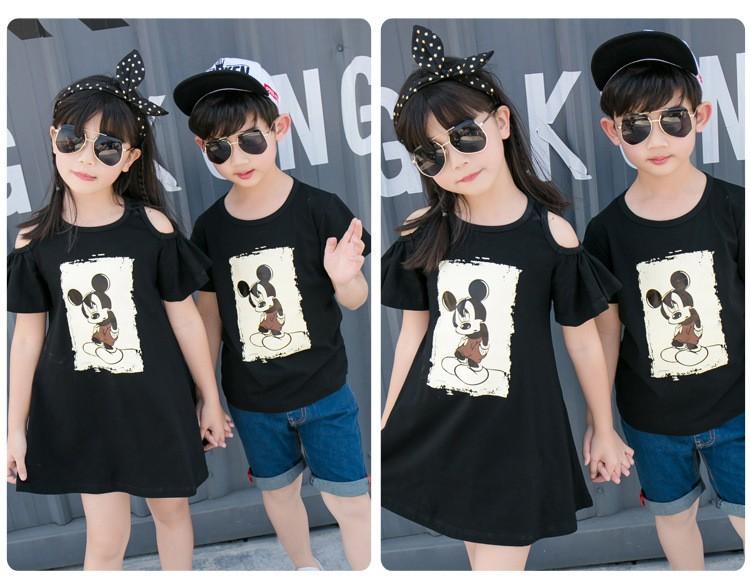HTB1h6UVKXXXXXXaaXXXq6xXFXXXE - Entire Family Fashion - Matching Outfits - Stylish Casual Look - Cartoon Mouse Print