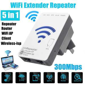 WLAN 300Mbps Extender Repeater