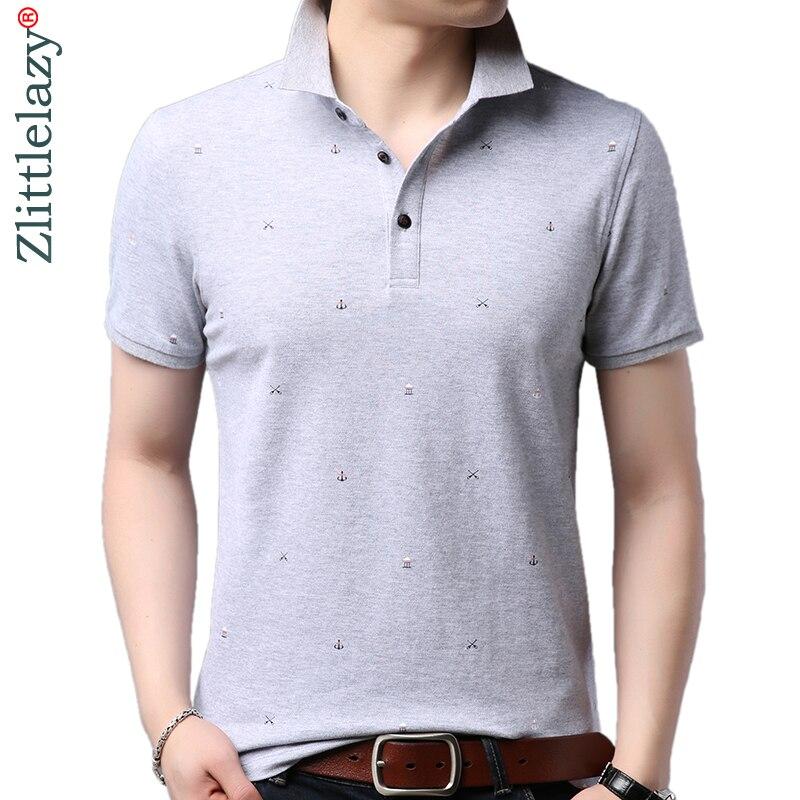 2019 brand casual summer fitness short sleeve   polo   shirt men poloshirt jersey luxury mens   polos   tee shirts dress fashions 62958