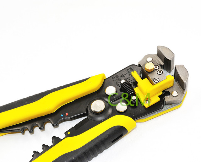 AWG24 10 (0.2 6.0mm2 )Multifunctional automatic Wire Stripper Cutter ...
