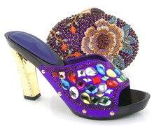 CSB7189-yellow Neue designs high heels schuhe/damen schuhe/schuhe und tasche spiel für hochzeit/party