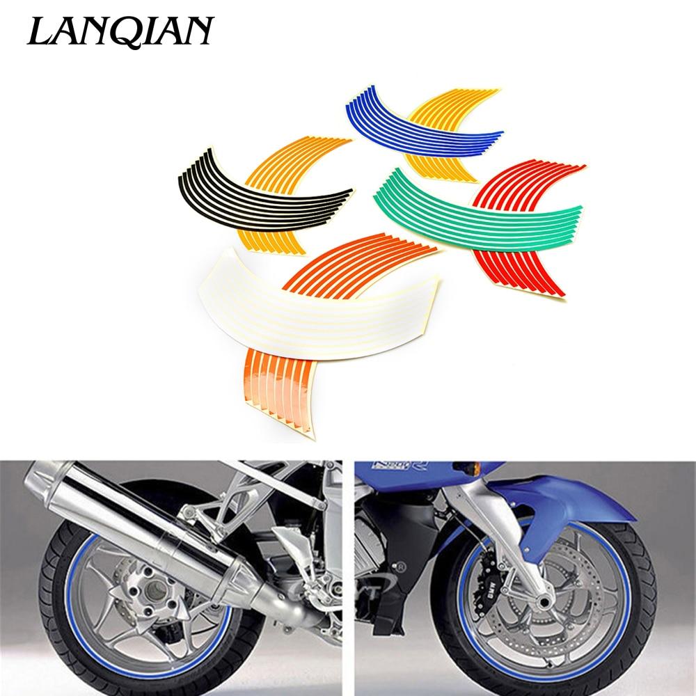 17inch/18inch Wheel Strips Motorcycle Reflective Wheel Sticker For MOTO GUZZI CALIFORNIA Custom/Touring/Classic GRISO