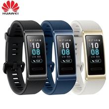 Original Huawei Band 3 Pro GPS Smart Band Metal Amoled 0.95' Full Color Touchscreen Swim Stroke Heart Rate Sensor Sleep Bracelet