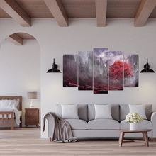 Home Decor Canvas Painting HD Prints 5 Pieces Tree Wall Art Pictures Bedside Background Artwork Poster Free Shipping Abooly