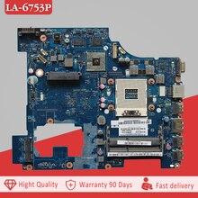 Ytai G570 PIWG2 LA-6753P REV1.0 mianboard для Lenovo G570 материнская плата для ноутбука REV1.0 HM65 DDR3 PGA989 плата бесплатная доставка