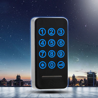 Drawer Combination Lock Digital Keypad Password Key Access Cabinet Door Lock Digital Electronic Security Coded For Locker