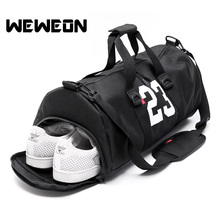 Hot Selling Gym Bags Women Men Camouflage Sports Shoulder Handbag Large Capacity Travel Fitness Training Bag with Shoes Storage