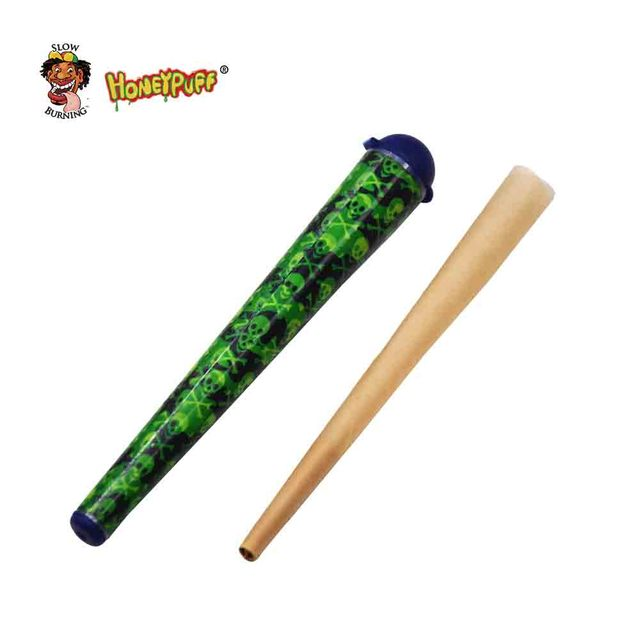 Doob Tubes 120MM Stash Jar Joint Holder Storage Paper Cones Holder Airtight Waterproof Pill Box Without Cone