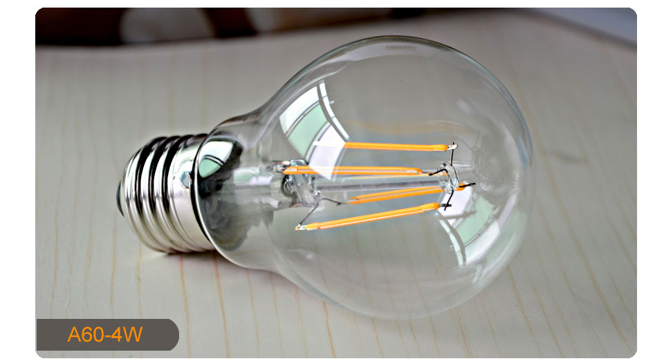 Dimmable Antique Retro Edison Incandescent LED lamp 110V E27 2W 4W 6W (11)