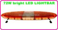 Higher star 120cm DC12V,72W Led car warning lightbar,Led emergency light bar for police ambulance fire truck,11flash,waterproof
