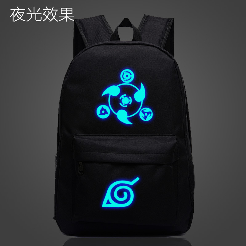 Free Shipping Naruto Backpack Japan Anime Printing School Bag For Teenagers Cartoon Travel Rucksack Nylon Mochila Galaxia