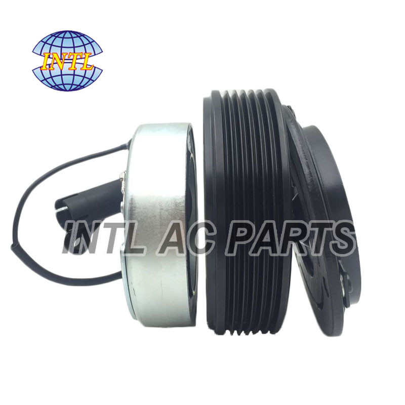 64526908660 64526918751 CSV613 air con ac compressor magnetic clutch assembly 6pk pulley for BMW 3 E46