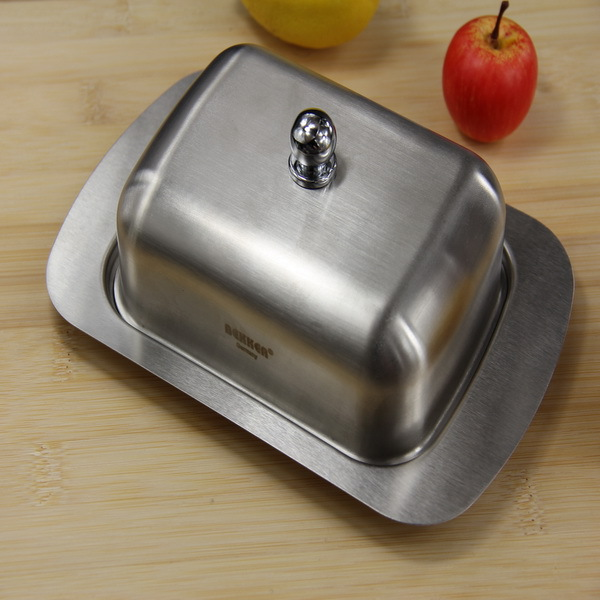 304 stainless steel butter cake cheese plate Western oval dish cake dessert dish