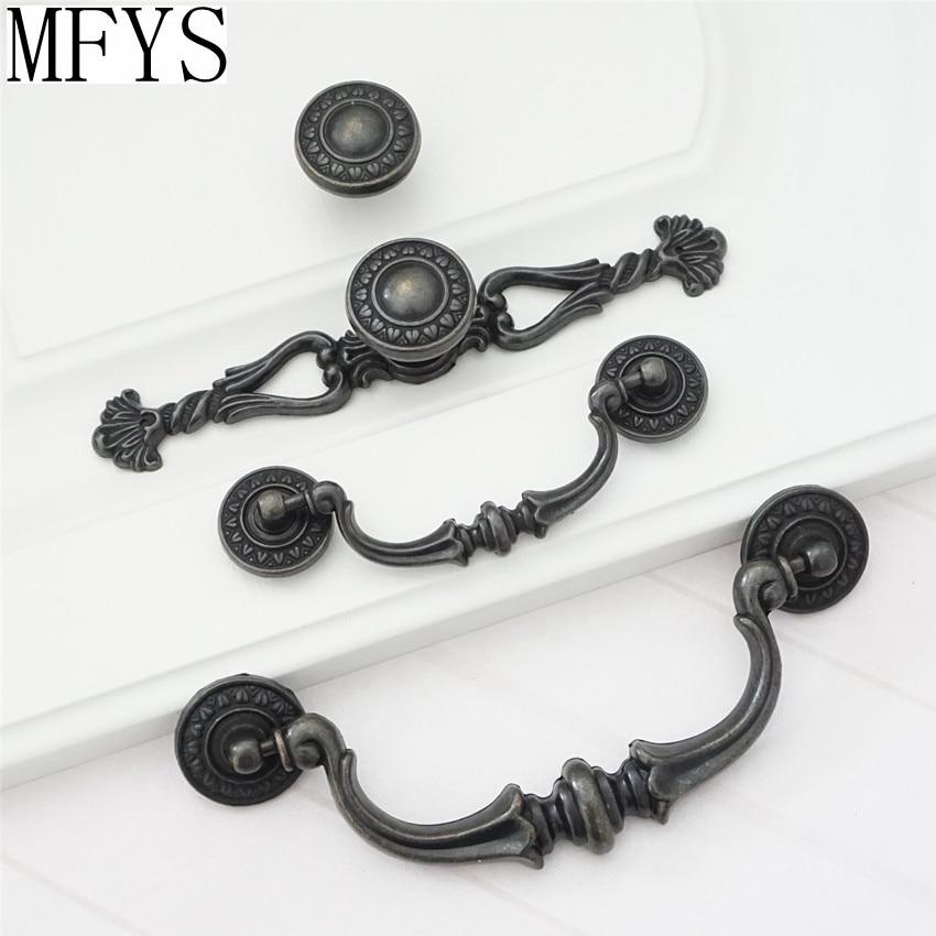 Style Antique Tiroir Tirer Poignées de porte d/'armoire Knob Cabinet Armoire