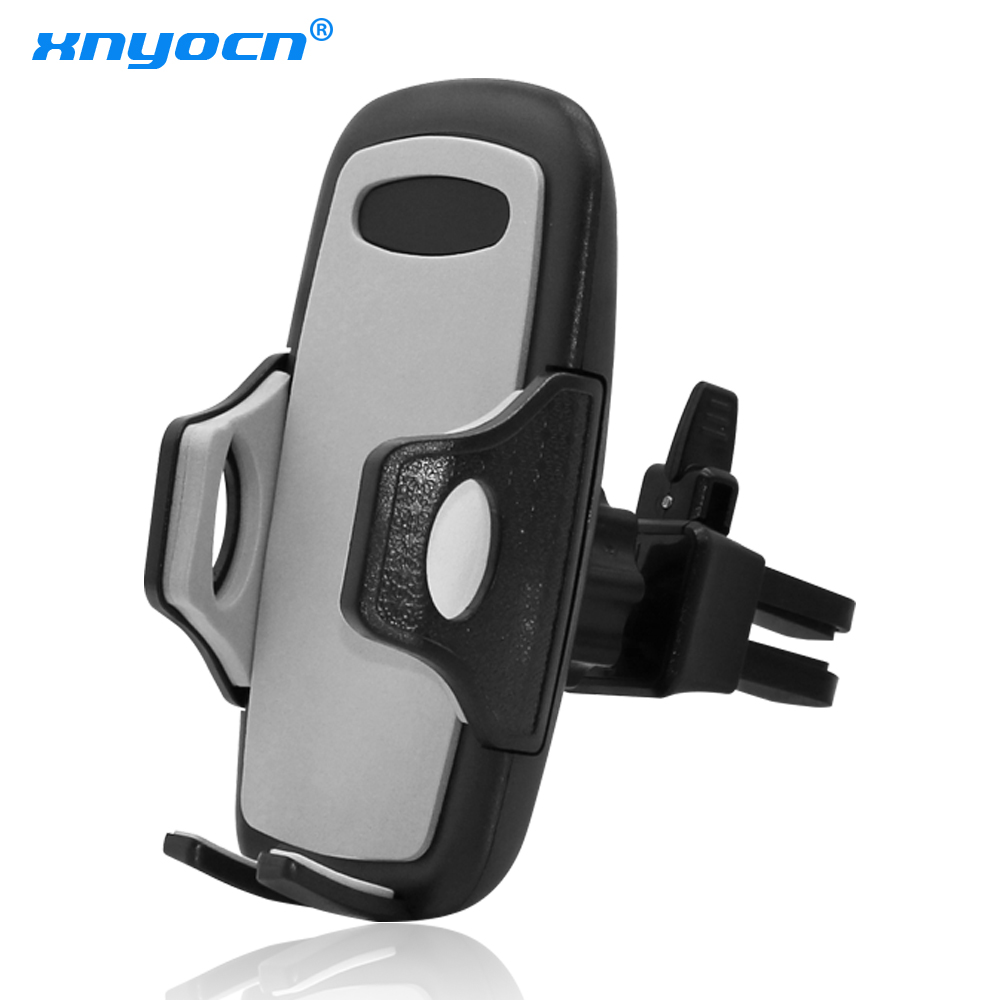Universal Ventilated Outlet Car-mounted Mobile Phone Holder Stand Universal Air Vent Mount For Samsung/Xiaomi/Oneplus 5 Bracket