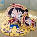 Fancytrader Cartoon Anime Luffy Giant Bed Sofa Mattress Tatami 3 sizes Best Gift FT91004