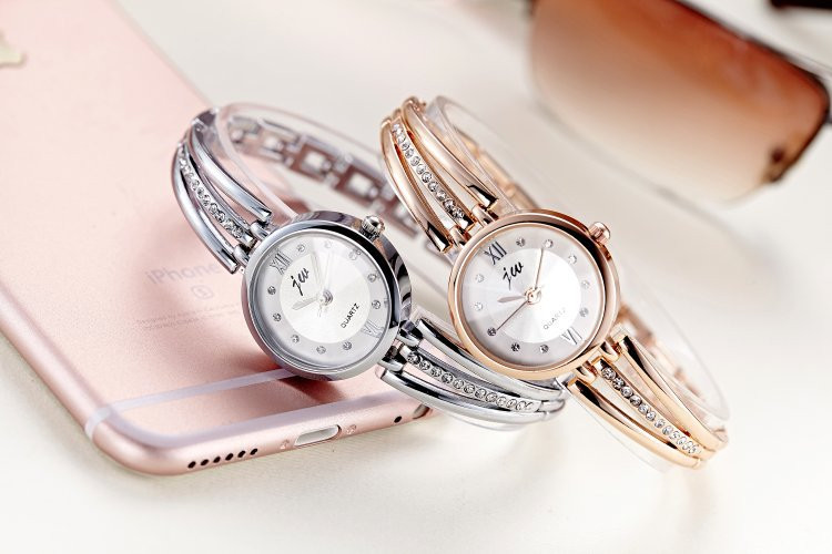 New Fashion Rhinestone Watches Women Luxury Brand Stainless Steel Bracelet watches Ladies Quartz Dress Watches reloj mujer AC070 10