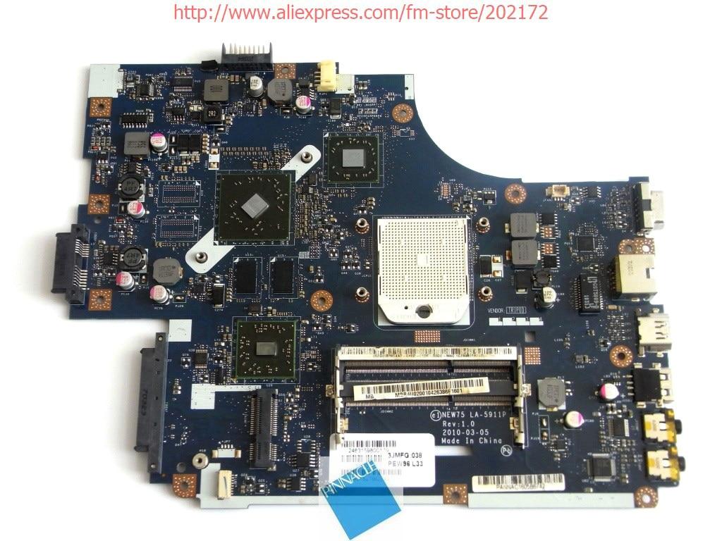 все цены на MBR4U02001 Motherboard For Acer Aspire 5552G eMachines E642 NEW75 LA-5911P онлайн