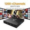 Caja del Iptv X96 2G16G S905X Cielo ES UK DE Android Europa Árabe Caja Para España Portugal Holanda Turco Inteligente Wifi IPTV IPTV Tv Box