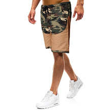 Mens Camouflage Shorts Summer Casual Male Street Beach Sports Half Length