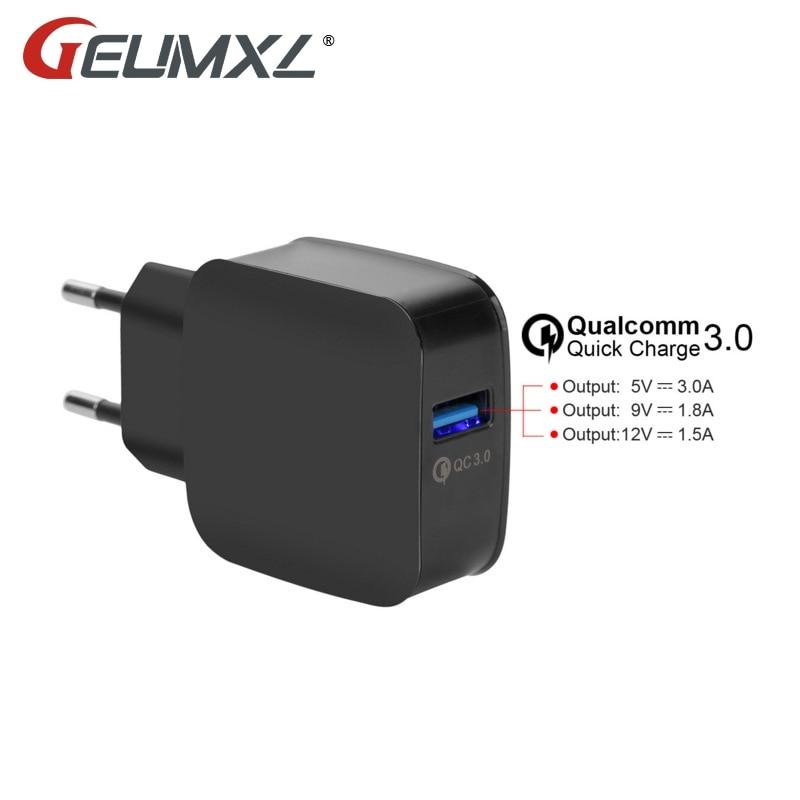 5V 3A Travel Wall Charger Quick Charge 3.0 Adaptador de cargador USB - Accesorios y repuestos para celulares - foto 1