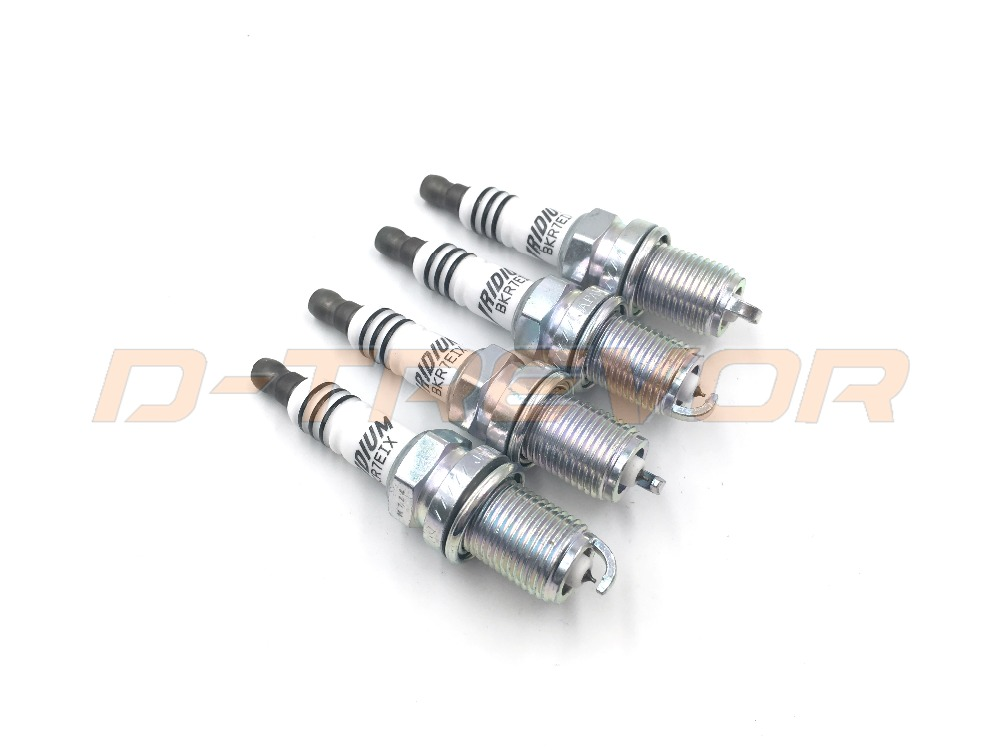 Iridium IX Spark Plugs BKR7EIX Plus Froid Chaleur Gamme 7 pour Aston BMW Honda Porsche Audi VW BKR7EIX 2667