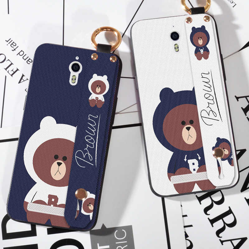 Cute Bear Cartoon Case For OPPO Find 7 X9007 Soft Silicone Strap Cover For OPPO Mirror 5 A51 A37 A57 A39 Case
