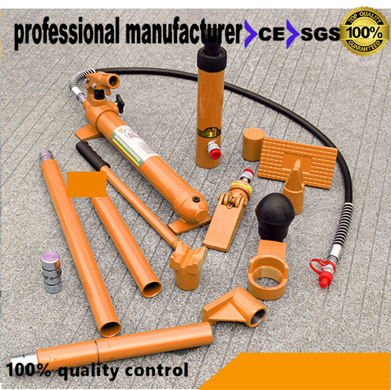 Manual hydraulic 10 ton separate hydraulic jack 10T sheet metal hydraulic separation of the top vehicle maintenance tools hollow hydraulic jack rch 2050 multi purpose hydraulic lifting and maintenance tools 20t hydraulic jack 1pc