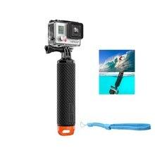 Gopro Аксессуары Bobber Плавающей Ручкой Крепления Ручной Монопод для Xiaomi Yi действий Камеры Go pro Hero 5 4 3 Hken H9 SJ4000