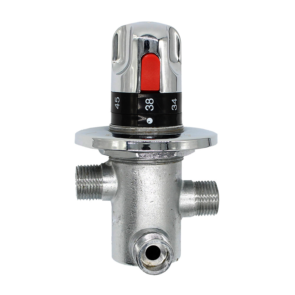 U Type Chrome Electric Water Heater Mixing Valve Single: Online Buy Wholesale Mix Valve Water Heater From China Mix