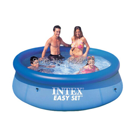 Free Shipping Intex 12ft Inflatable Pool Swimming Family Pool Size 366cm 91cm In Swimming Pool