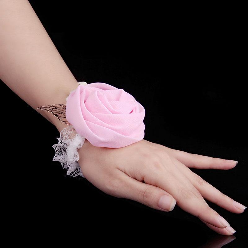 ᐂNueva muñeca Corsage dama de honor hermanas mano flores ...