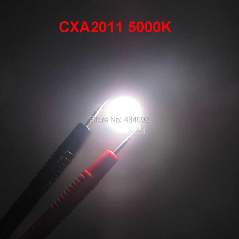 Cree Xlamp COB LED Cxa 2011 CXA2011 Putih 5000 K Warm White 2700 K 3000 K 11 W ~ 48 W High Power LED Light DC38V-48V 285mA-1000mA