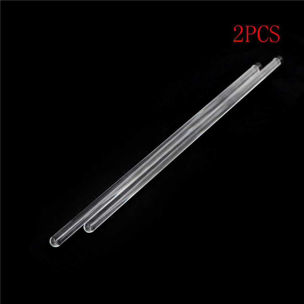 2pcs/lot Stir Glass Stirring Rod Laboratory Tool 6*200mm Lab Use Diameter: 6mm