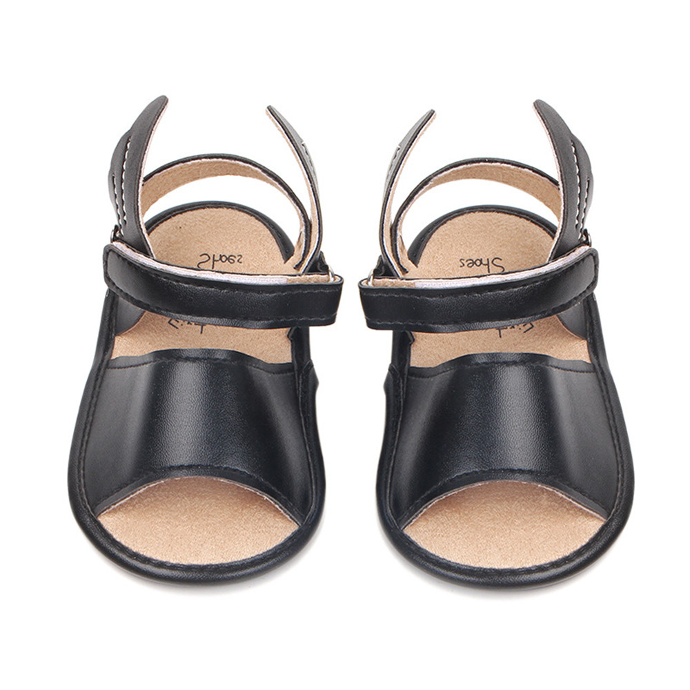 2018 Baby Boys Girls PU Leather Rubber Sole Anti-Slip Summer Walkers Shoes First Walk wings Summer